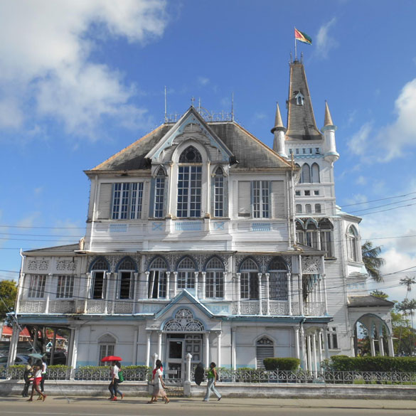 City Hall Guyana