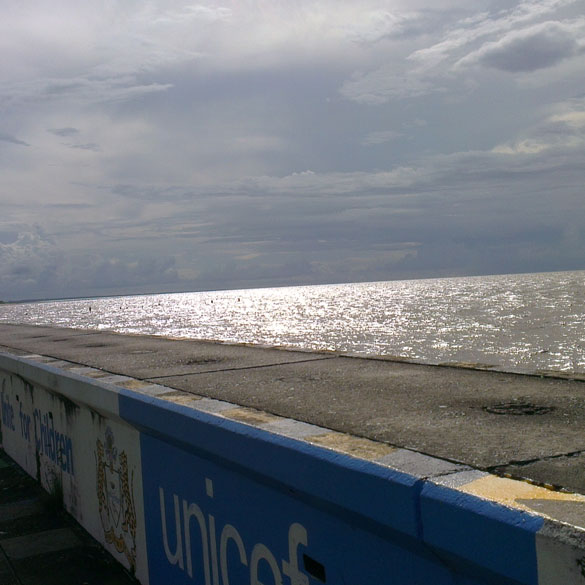 Sea wall Guyana