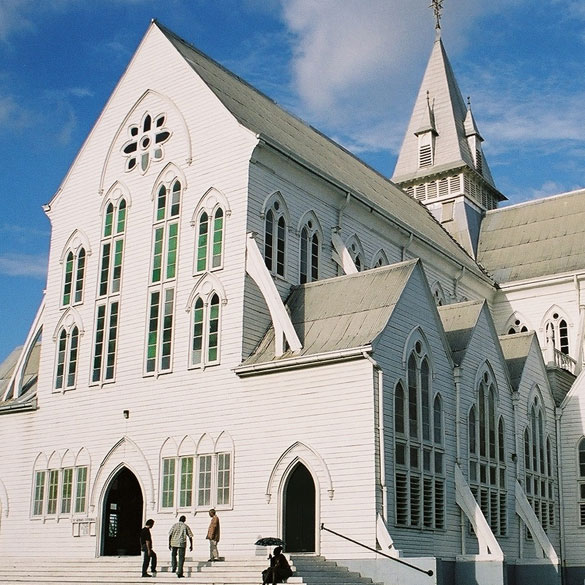 st. george cathedral guyana georgetown